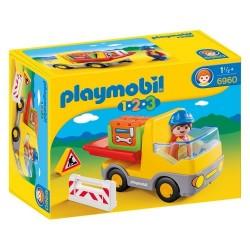 Playmobil 6960 1.2.3 Camión de Construcción