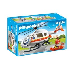 Playmobil 6686 Helicóptero Médico de Emergencia