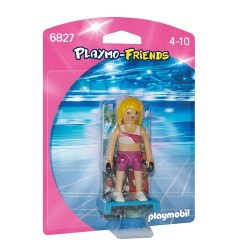 Playmobil 6827 Profesora de Fitness