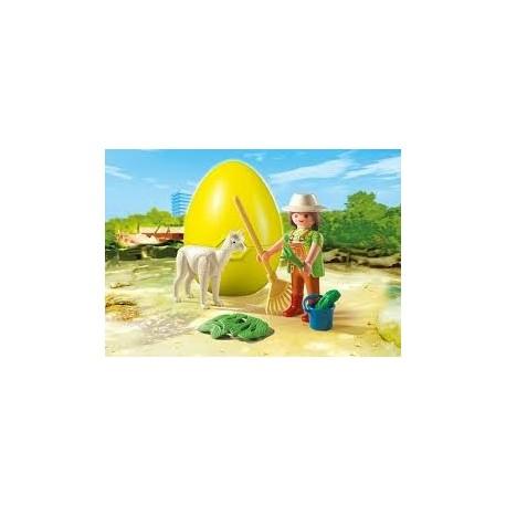 Playmobil 4944 Cuidadora con Alpaca