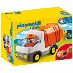 Playmobil 6774 1.2.3 Camión de Basura