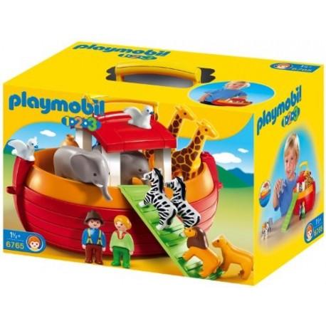 Playmobil 6765 1.2.3 Arca de Noé Maletín