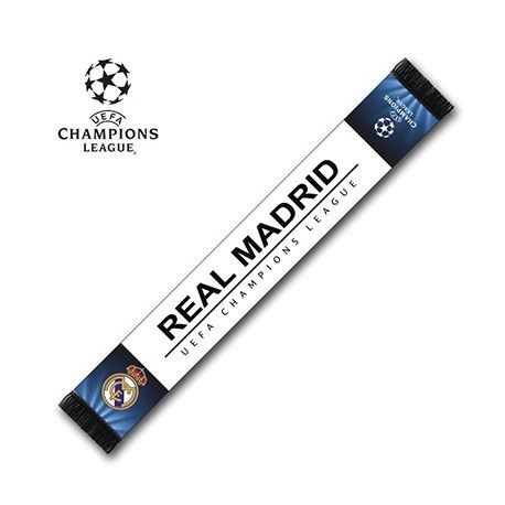 Bufanda Real Madrid UEFA CHAMPIONS LEAGE