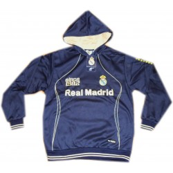 Sudadera Real Madrid adulto azul/dorado