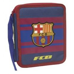 Estuche Plumier 2 pisos del Fútbol Club Barcelona Grande