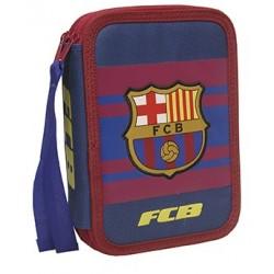 Estuche Plumier 2 pisos del Fútbol Club Barcelona