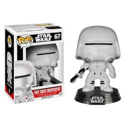 FIGURA POP VINYL BOBBLE HEAD FIRST ORDER SNOWTROOPER STAR WARS EPISODIO VII