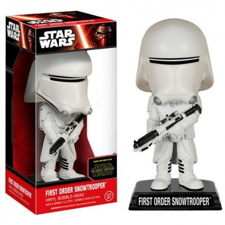 FIGURA POP WACKY WOBBLER SNOW TROOPER STAR WARS EPISODIO VII