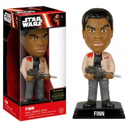FIGURA POP WACKY WOBBLER FINN STAR WARS EPISODIO VII