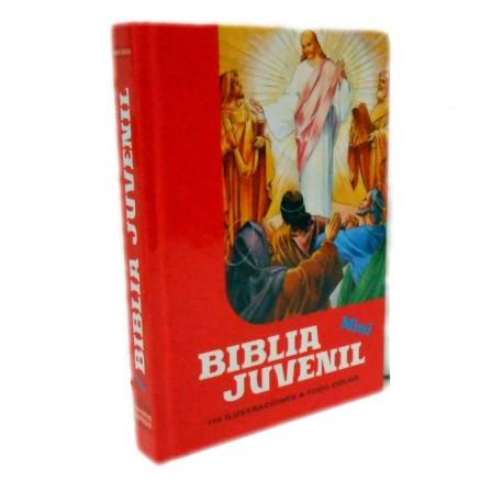 La Biblia juvenil con 110 ilustraciones a color