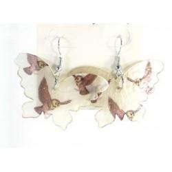 Pendientes mariposa de nacar mod 41891