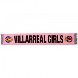 Bufanda rosa Villarreal Club de Fútbol GIRLS