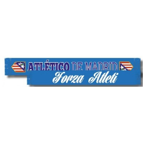 Bufanda Atlético de Madrid doble FORZA ATLETI