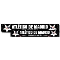 Bufanda Atlético de Madrid doble estrellas