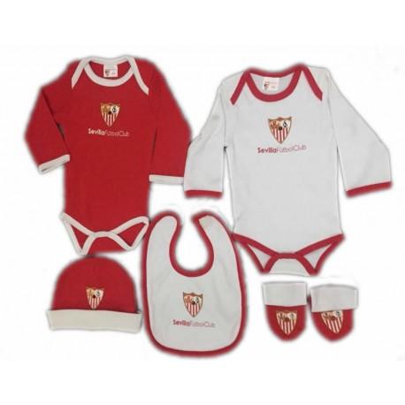 Pack bebé Sevilla Fútbol Club recien nacido