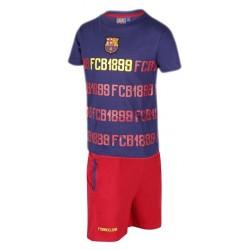 Pijama adulto del Fútbol Club Barcelona verano