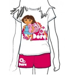 Pijama Dora la Exploradora verano