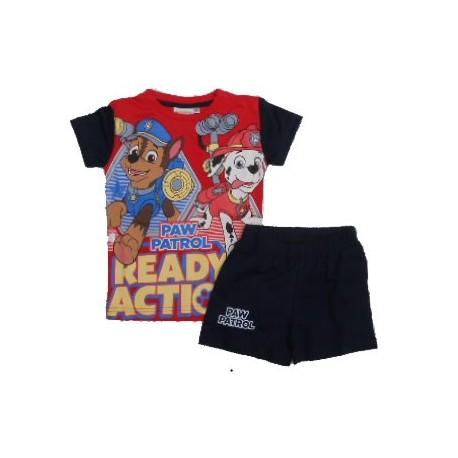 Pijama Patrulla Canina Paw Patrol Tallas 2 a 6 años verano