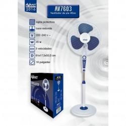 Ventilador de pie 40cm 45W base redonda