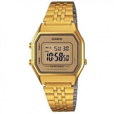 Reloj casio dorado señora LA680WEGA-9BER