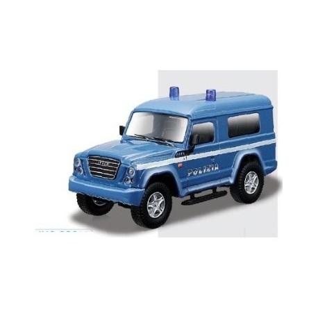 Iveco Massif Policia italia Polizia 1:50 Bburago 10cm