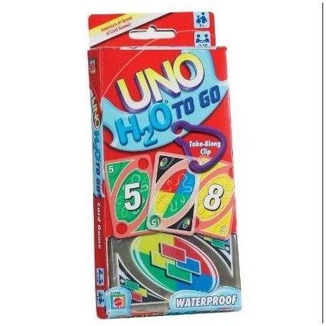 Juego de cartas UNO H2O de Mattel