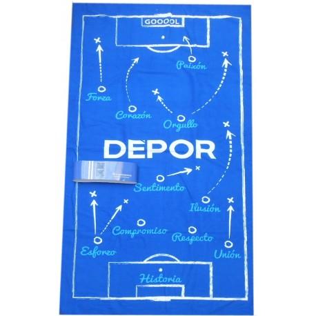 Toalla Deportivo de La Coruña 90x180cm