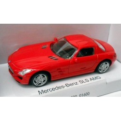 Mercedes-Benz SLS AMG escala 1:43 Welly