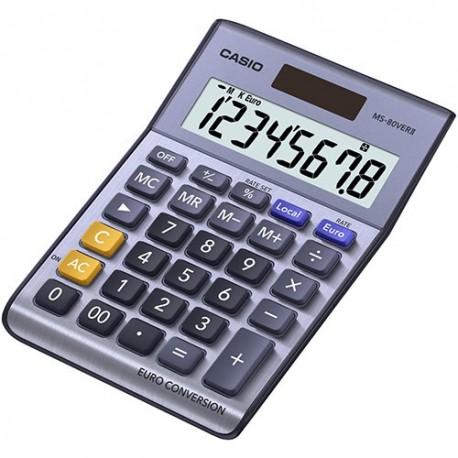 Calculadora Casio MS-80VerII Euro conversión