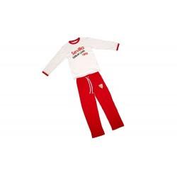 Pijama Sevilla Fútbol Club invierno adulto