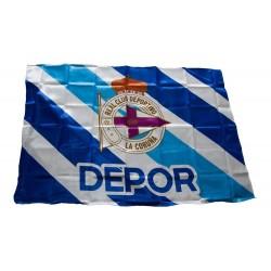 Bandera Deportivo de La Coruña 100x150cm diagonal