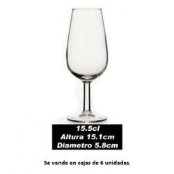 6 copas de catavinos 15,5 cl marca Hostelvia