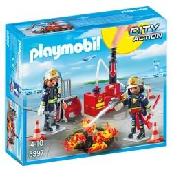 Playmobil 5397 Equipo de Bomberos