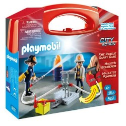 "Playmobil 5651 Maletín grande ""Bomberos"""