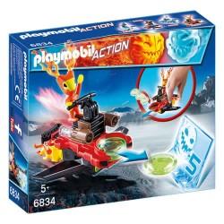 Playmobil 6834 Sparky con Lanzador