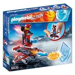 Playmobil 6835 Robot de Fuego con Lanzador