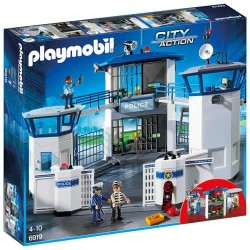 Playmobil 6919 Comisaría de Policía con Prisión