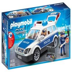 Playmobil 6920 Coche de Policía con Luces y Sonido