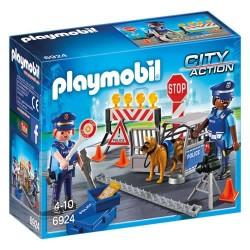 Playmobil 6924 Control de Policía