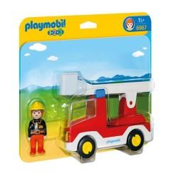 Playmobil 6967 1.2.3 Camión de Bombero