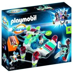 Playmobil 9002 FulguriX con Agente Gene