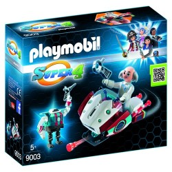 Playmobil 9003 Skyjet con Dr. X y Robot