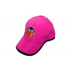 Gorra rosa adulto Valencia Club de Fútbol