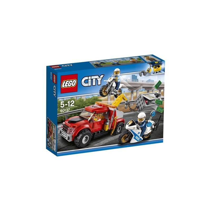 Lego city police60137cami n gr a en problemas tienda de - Lego city camion police ...