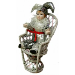Muñeco arlequín decoración