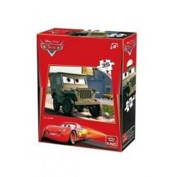 Puzzle Sargento 35 piezas 21x15cm Cars