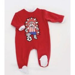 Pelele bebé Atlético de Madrid INDI