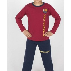 Pijama niño del Fútbol Club Barcelona verano