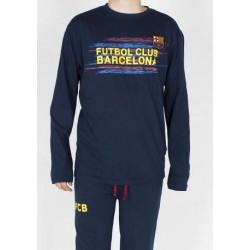 Pijama Fc Barcelona invierno adulto Senyera