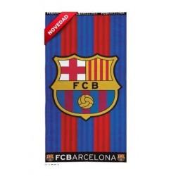Toalla FC Barcelona algodón calidad premium 75x150cm 400gr